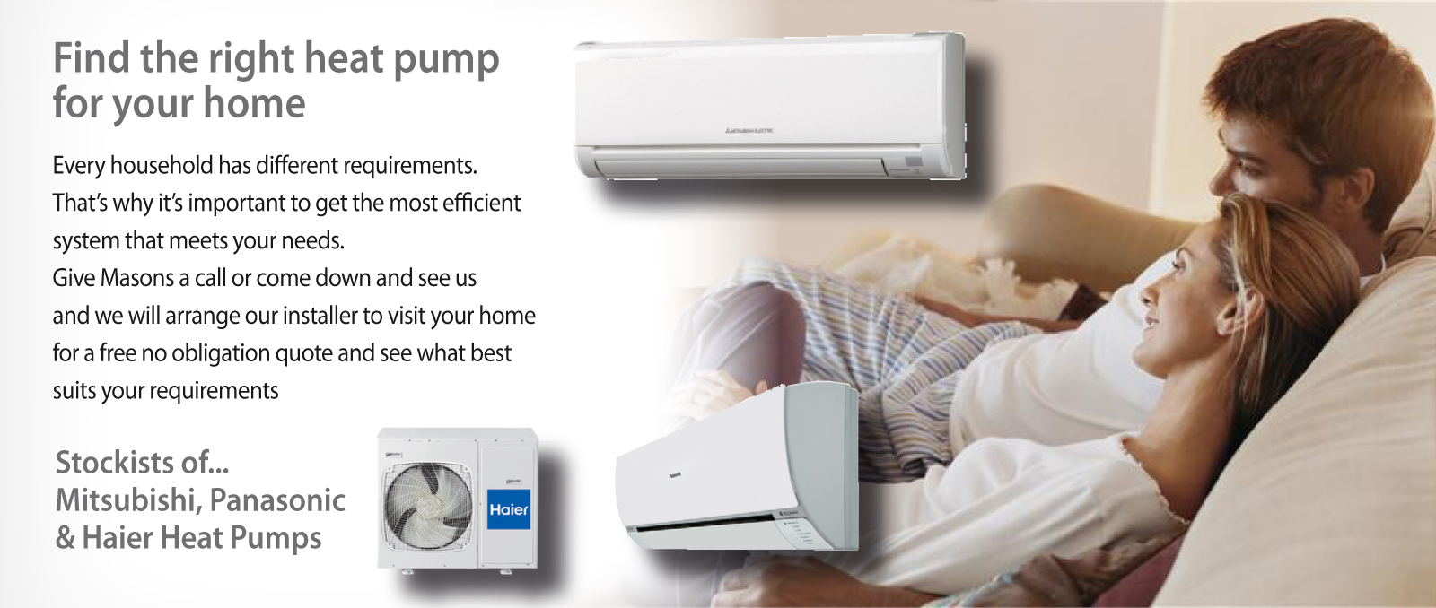 Website Heat Pump Slider