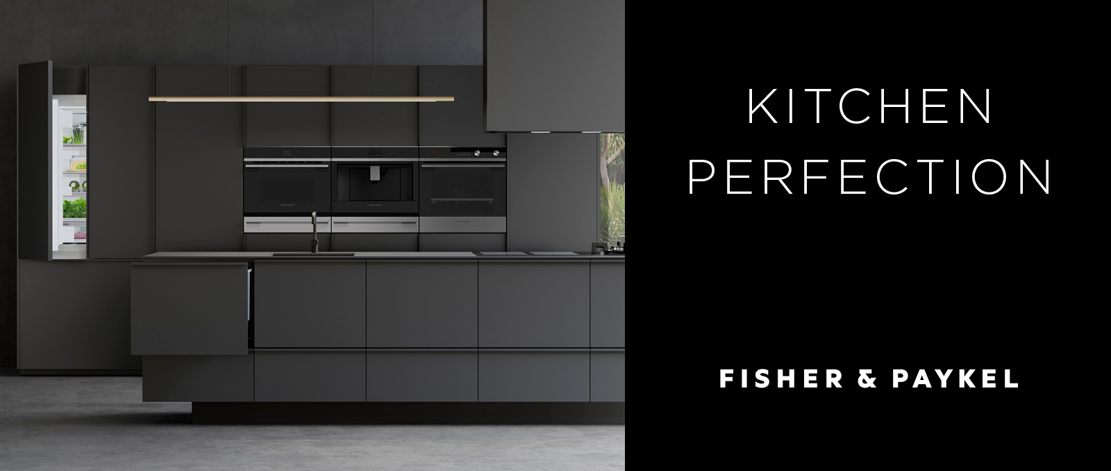Fisher & Paykel Slider Kitchen Perfection